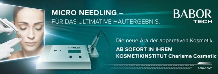 Micro Needling - Banner - Schönheitssalon